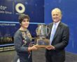 Maria Toorpakai receives US Squash award
