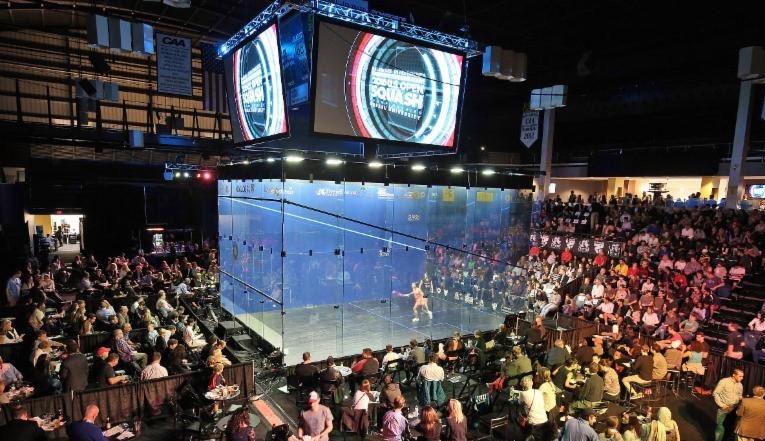 The US Open at Drexel University