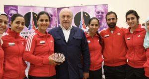 Omneya Abdel Kawy sets world record in Paris