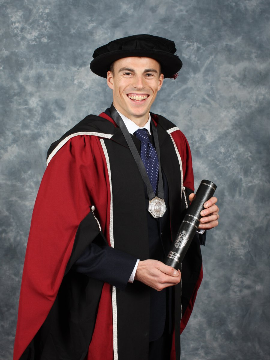 Nick receives his honorary doctorate