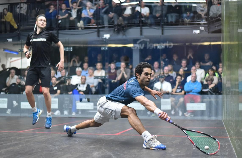 Tarek Momen and James Willstrop