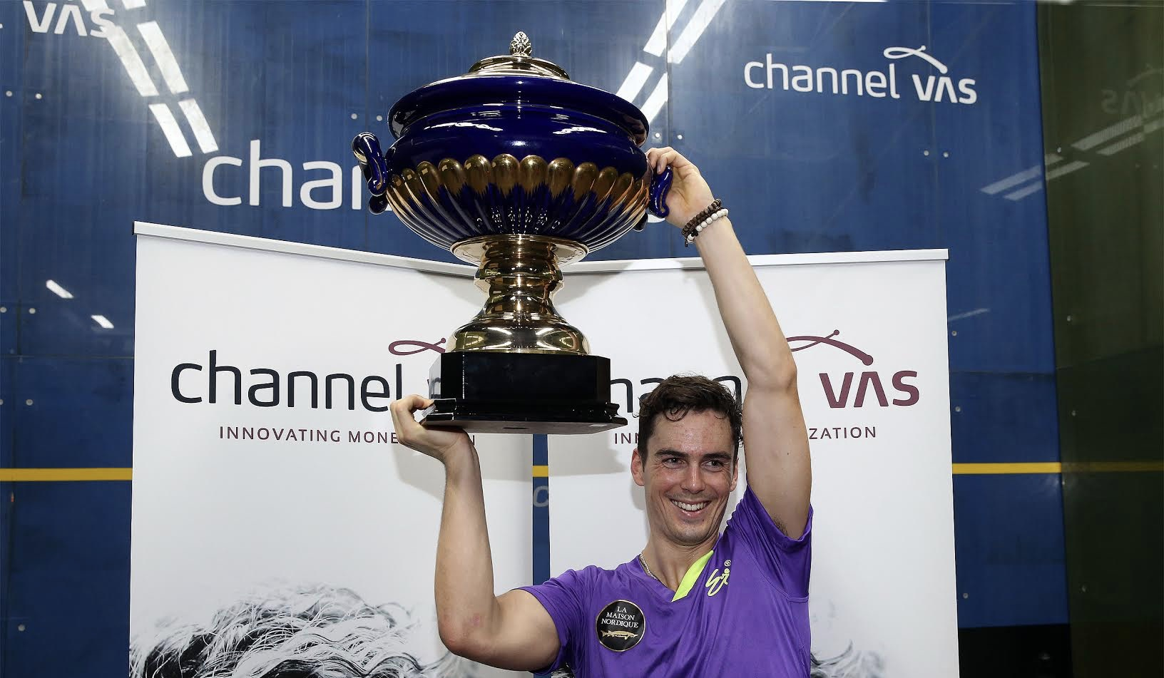 Paul Coll is the Channel VAS champion