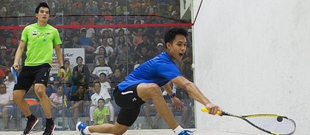 Top seeds win Singapore Open premier titles