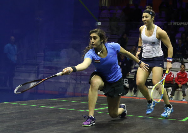 Image result for picture of el sherbini and amanda sobhy together