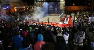 Nour El Sherbini defends world title on home soil