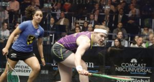 Sarah-Jane Perry leads English trio into New York semi-finals
