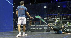 Karim Gawad and Gregory Gaultier battle through to Swedish semi-finals