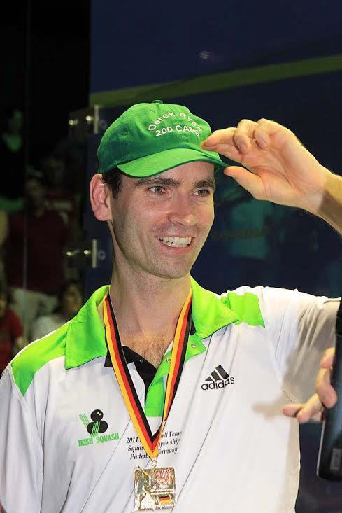 Squash Mad Derek Ryan: Return of an Irish legend - Squash Mad