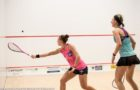 Camille Serme sees off Alison Waters in five to clinch Cleveland Classic title