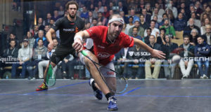 Simon Rösner routs Ramy Ashour to book Windy City last-eight berth