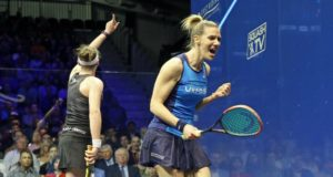 Laura Massaro rises back up the rankings to number two