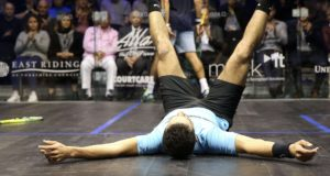 Mohamed Abouelghar stuns world champion Karim Gawad at British Open