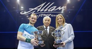 Gregory Gaultier and Laura Massaro claim British Open titles
