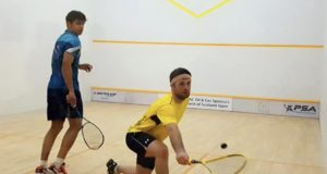 Kempsell and Leiper fly the flag for Scotland