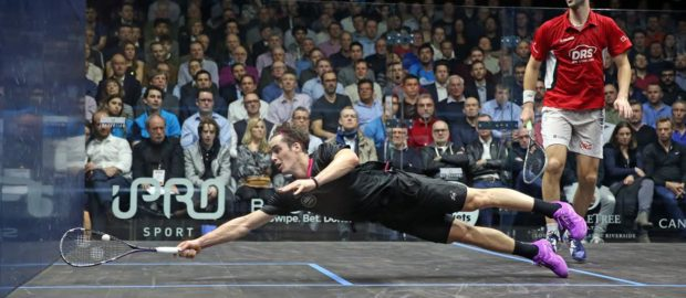 Superman Coll rocks Rosner in 116-minute battle at Canary Wharf