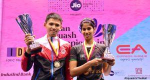 Max Lee and Joshana Chinappa are new Asian champions