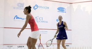 Laura Massaro sets up World blockbuster with Raneem El Welily