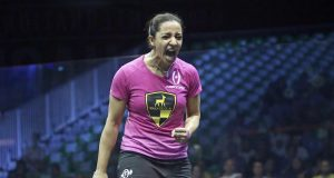 Laura Massaro falls to Raneem El Welily in Worlds