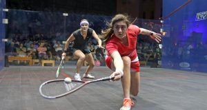 Nour El Sherbini leads trio of Egyptian winners on day one of World Championship