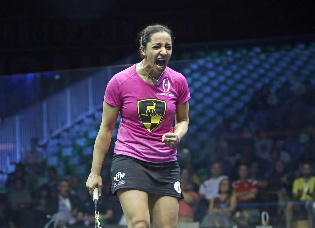 Squash Mad Laura Massaro falls to Raneem El Welily in Worlds - Squash Mad