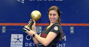 Nour El Sherbini retains women's world title on home soil