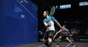 Gregory Gaultier to meet Ali Farag in Grasshopper Cup Final