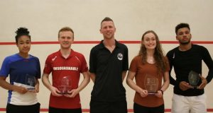 Joel Makin and Elise Lazarus claim British Under-23 titles