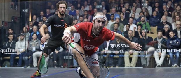 Simon Rösner ready to rock in PSA World Series Finals