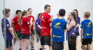 Nick Matthew launches UK Masterclass events after Dubai finale