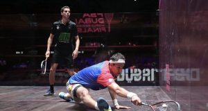 Defending champion Gaultier is out as ElShorbagy and Massaro qualify for semi-finals