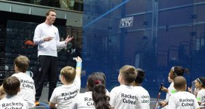 PSA Foundation links up with Rackets Cubed and England Squash