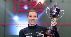 New columnist Ashley Davies: I'm tipping Gregory Gaultier and Laura Massaro to win in Dubai