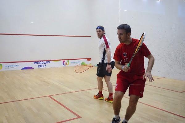Squash Mad Newlyweds Castagnet and Kandra set up World Games clash