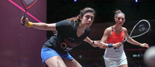 15 months at the top for Nour El Sherbini