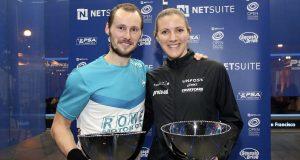 Gregory Gaultier and Laura Massaro top seeds in NetSuite Open
