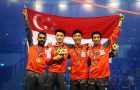 SEA Games : Singapore regain men's team title and Philippines chalk up historic win