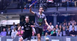 Ali Farag and Paul Coll set up quarter-final Clash in Channel VAS Championships