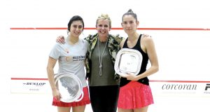 Hat-trick for Nour El Sherbini as she wins Weymuller final at Heights Casino