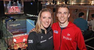 Stars support World Squash Day