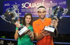 Nour El Sherbini and Mohamed ElShorbagy win Hong Kong titles