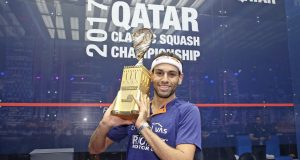 Mohamed ElShorbagy claims third Qatar Classic crown
