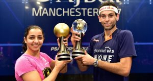 Mohamed ElShorbagy and Raneem El Welily crowned world champions