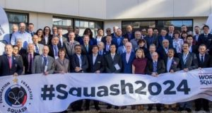 Worldwide squash community must back Olympic bid says WSF chief