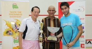 Ramit Tandon muscles way to Singapore title