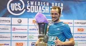 Gregory Gaultier defends Swedish Open title
