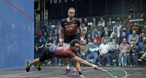 Ramy Ashour and Camille Serme are WSF Ambassadors