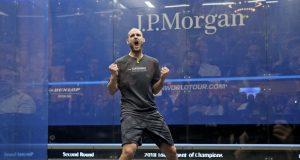 Nic Mueller stuns reigning champion Karim Abdel Gawad