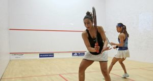 Chicago shock as Nicol David crashes out to Hania El Hammamy