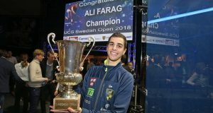 Ali Farag claims first Swedish Open title