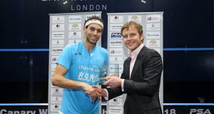 Mohamed ElShorbagy claims first Canary Wharf title